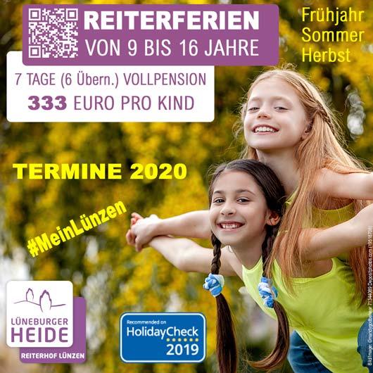 Reiterferien 2020 – Termine & Preise