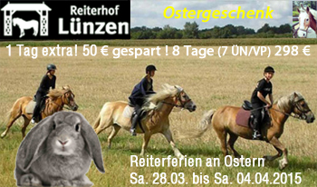 Ostern 2015 Reiterferien