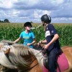 Reiterspiele Reiterferien für Kinder