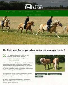 reiterhof-luenzen-webseite Reiterhof Lünzen - Relaunch unserer Webseite ist abgeschlossen