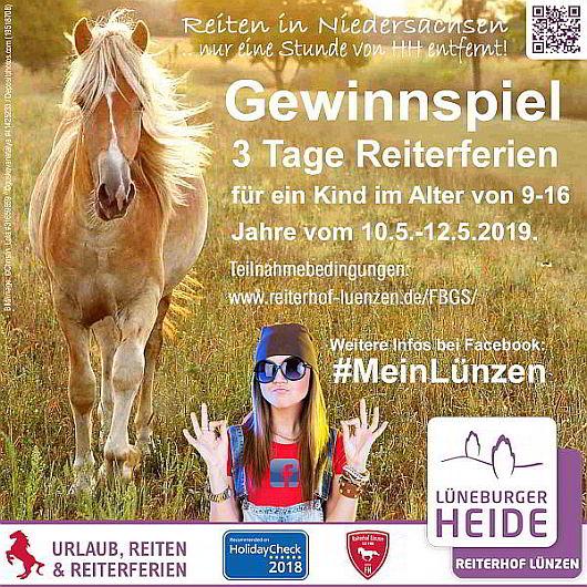 Facebook-Gewinnspiel-2018-Reiterferien-Urlaub-ReiterWochenenden-Reiten-Reiterhof-Ferienhof-Luenzen-HolidayCheck-Cavallo-Recommended-530x530