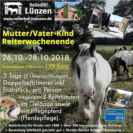 Reiten-Reiterferien-Mutter-Vater-Kind-Wochenende-Reiterhof-Ferienhof-Luenzen-Lueneburger-Heide-Niedersachsen-von-Cavallo-bewertet-und-HolidayCheck-empfohlen
