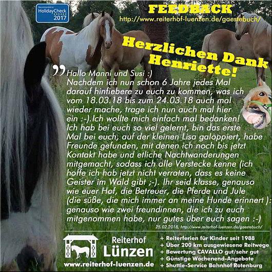 Reiten-Reiterferien-Urlaub-Familie-Reiterhof-Ferienhof-Luenzen-Lueneburger-Heide-Niedersachsen-Cavallo-HolidayCheck_Eintraege-Gaestebuch