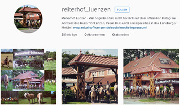 Reiterhof Luenzen Instagram